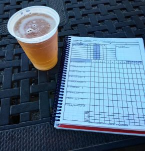 Last week in Hagerstown baseball beer scorecard