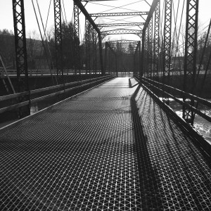 Cross it bridge