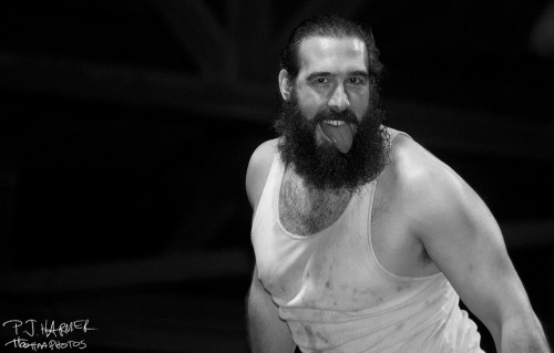 Brodie Lee (then known as) is now in the WWE as Luke Harper and will be part of Wrestlemania today.