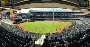Yankee Stadium onMariano Rivera Day baseball